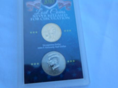 2010 Lost Coins Never Circulated