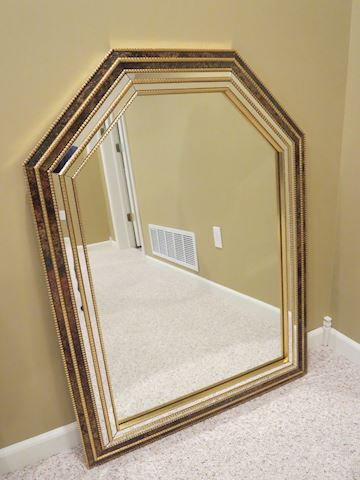 Contemporary Arched Top Wall Mirror By  Turner