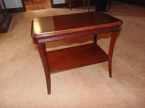 Vintage Mahogany End Table