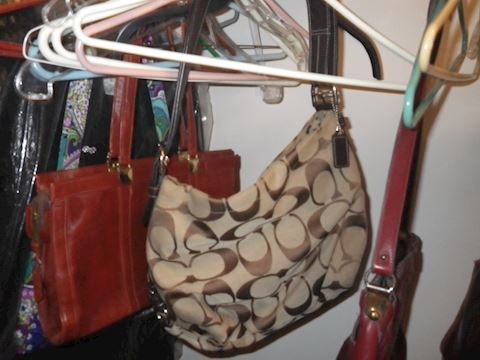 Contents of Master Bedroom Closet