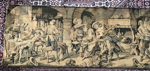 Vintage Tapestry Gobelin made France