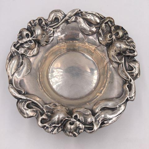 Antique Adelphi Sllver Sterling Art Nouveau Bowl