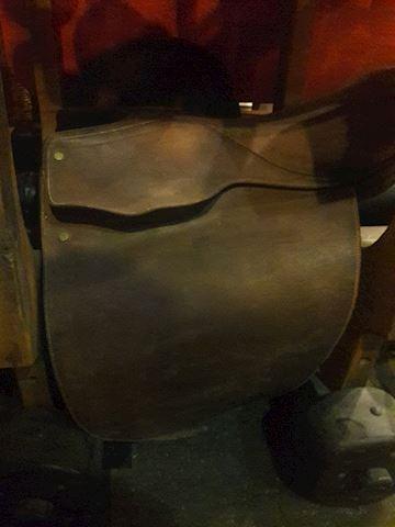 Vintage Argentinian Saddle 19 cm