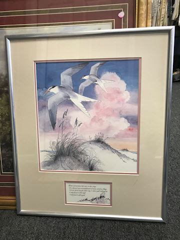 Beautiful framed artwork