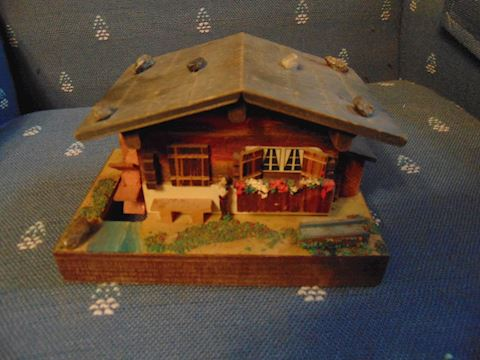 Swiss Wooden Music Box