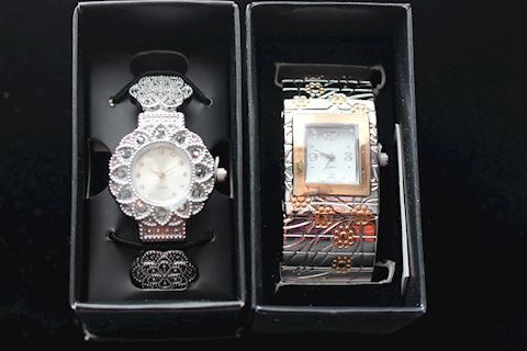 #015 Lot 2 New Ladies Watches -Radiance Rose