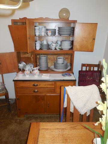 "Vintage ""Hoosier Style"" Baker Cabinet"