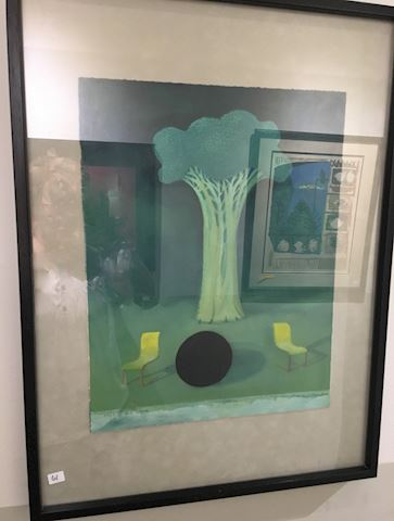 Signed Modernist O'Donohue Watercolor Painting