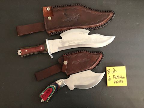 Collection of 2 Pakistan Knives Lot 12
