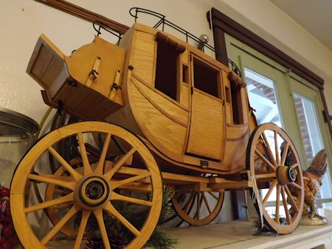 Custom Wells Fargo Stagecoach 1/5 Scale