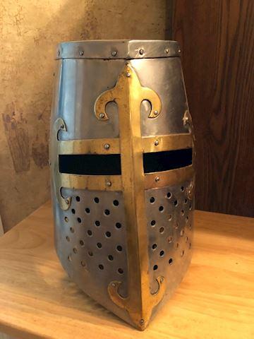 Crusader Pot Helmet
