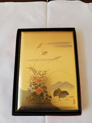 Gold Japanese address book (in Japanese)