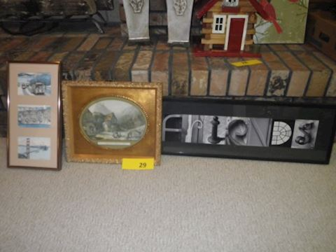 3 Pieces of Art (Lot #29)