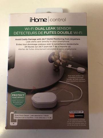 IHome Wi-Fi Dual Leak Sensor Smart home device