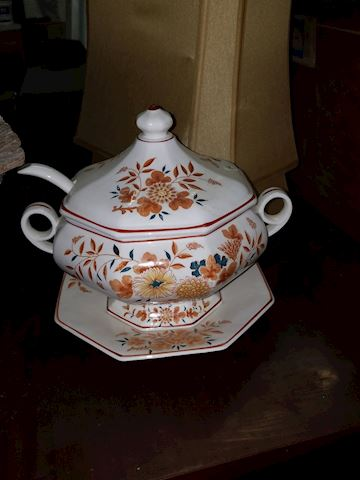 Decorative Soup Tureen