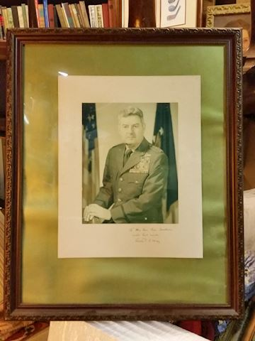 General Curtis Lemay autograph photo WWII history