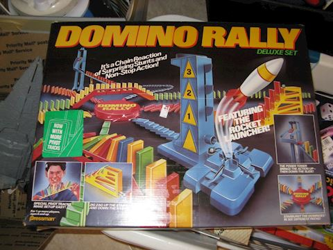 Domino Rally game