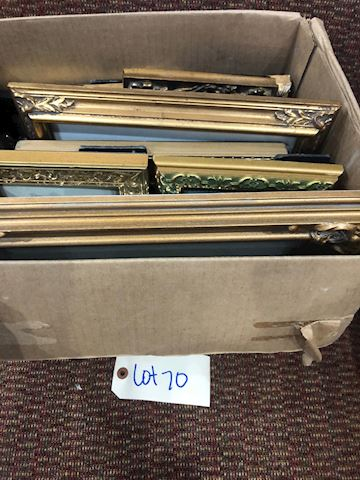 Lot of Picture Frames LOT 70