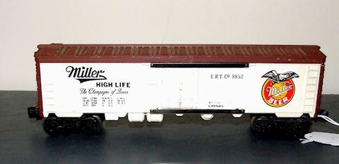 9852 MILLER HIGH LIFE BOX CAR 1973