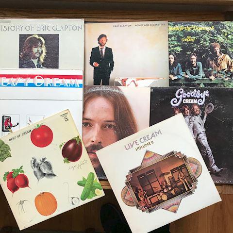 8 Eric Clapton/Cream