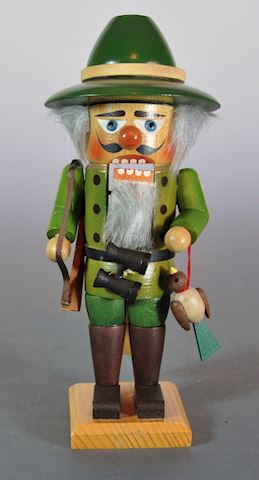 "1980s Steinbach 10"" The Hunter Nutcracker Excellen"