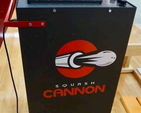 Squash Cannon Machine