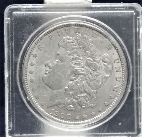 1900 Morgan silver Dollar Mint Un-Cirk