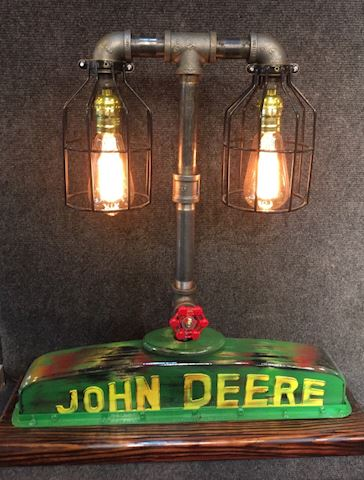 John Deere Edison Light Sculpture