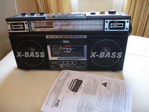 QFX Portable Stereo
