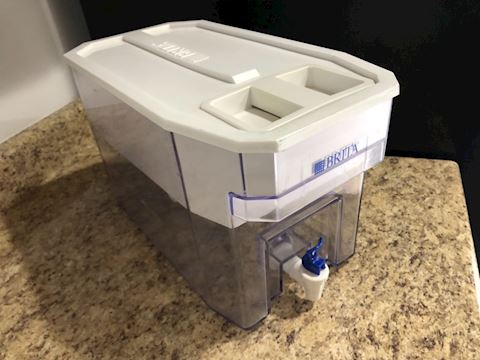 Brita water purifier cooler (fridge, spout)