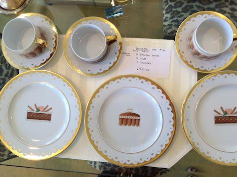 BVLGARI Dessert Sets