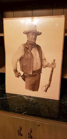 BD1 114 John Wayne Poster(1979)