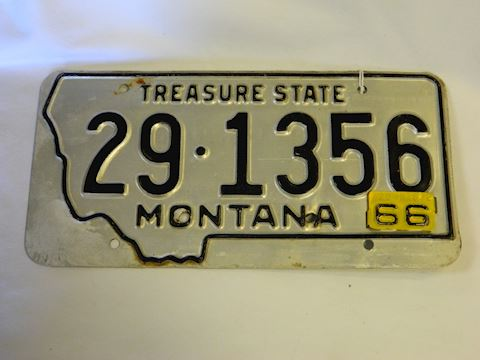 1966 MT plate