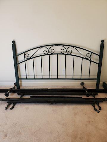 Metal bed frame, size full