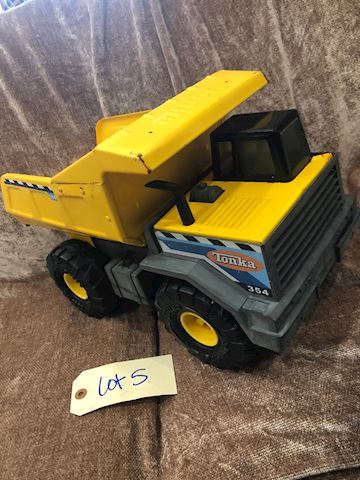 Tonka Mighty Classic Steel 345 Dump Truck LOT 05