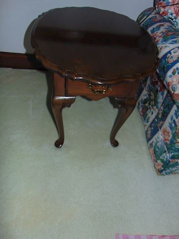 Two Cherry End Table