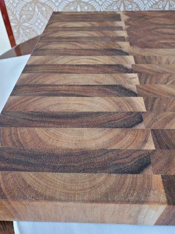 Inlay wood cutting board