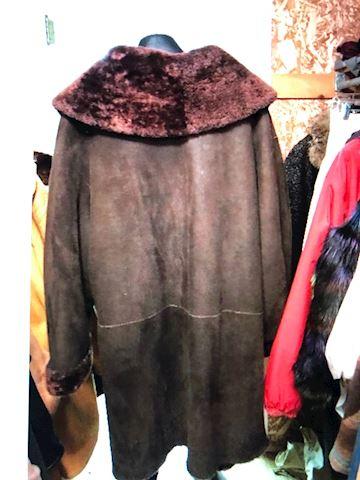 Suede Brown Coat