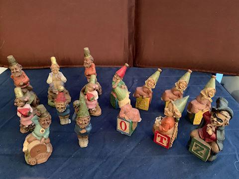 Gnome Figurines by Thomas Clark