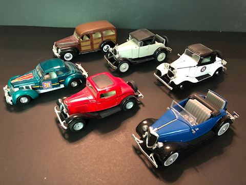 Collectible Diecast Cars - Lot D