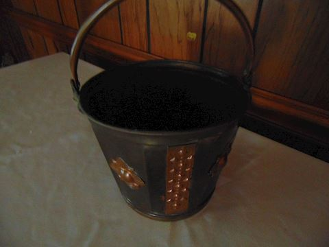 Copper decorative pot