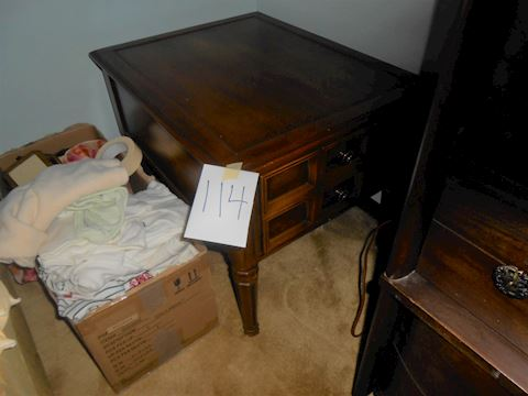 Lot #114 only (1) end table