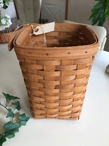 Longaberger tall square basket