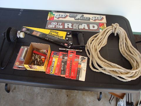 Stanley sawtooth saw motor muff misc Lot #136