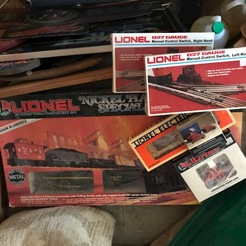 Lionel Nickle Plate Special
