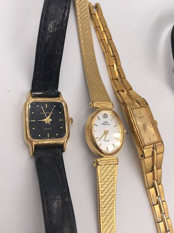 Lot of 4 Wristwatches