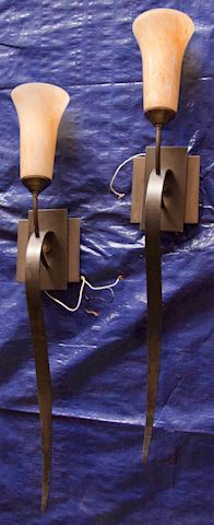 Pair Wall Sconce Lights