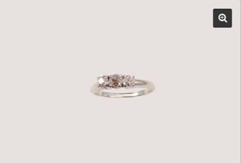Diamond Ring .73 carat GOLD 14K VINTAGE