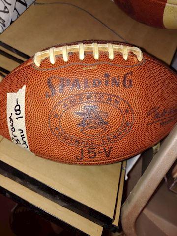 Brown University Game Football