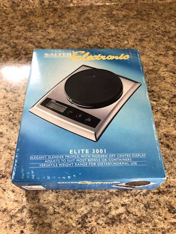 Salter Electronic food scale Elite 3001